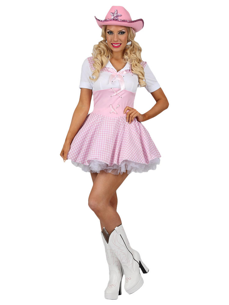 Ladies Rodeo Cowgirl Costume