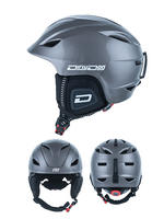 Dirty Dog Eclipse Dark Silver Ski Helmet