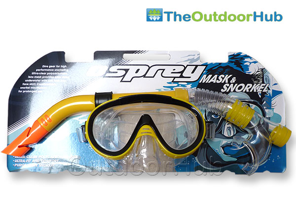 OSPREY-ADULT-SCUBA-DIVING-SNORKEL-MASK-WATER-SPORTS-SET