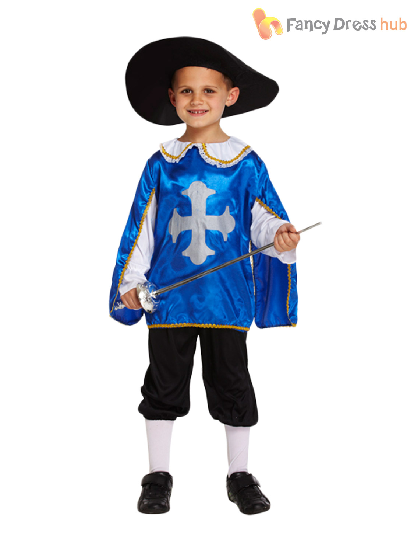 Boys Medieval French Musketeer Historical Kids Book Week ...