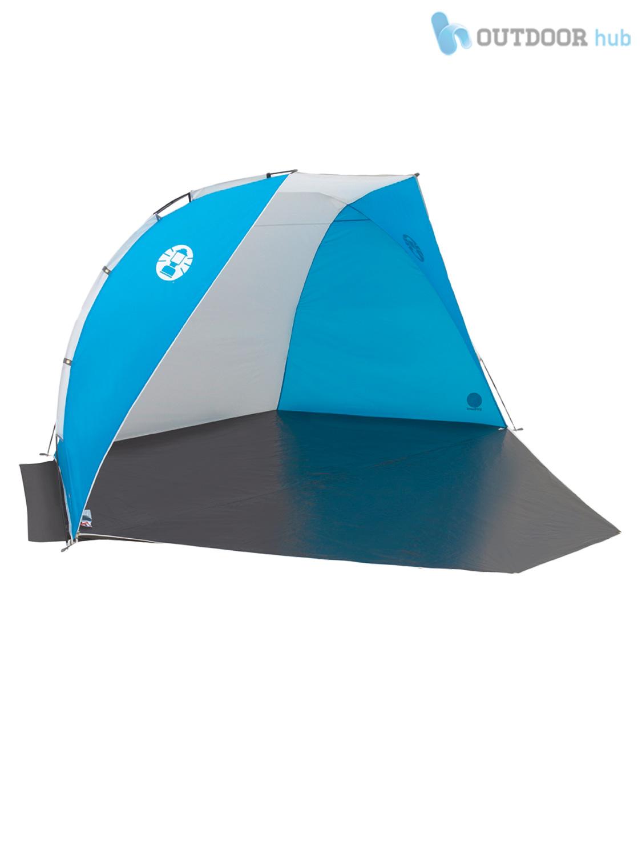 Coleman Sun Shelters : Coleman beach shelter pop up zippable tent sun uv wind