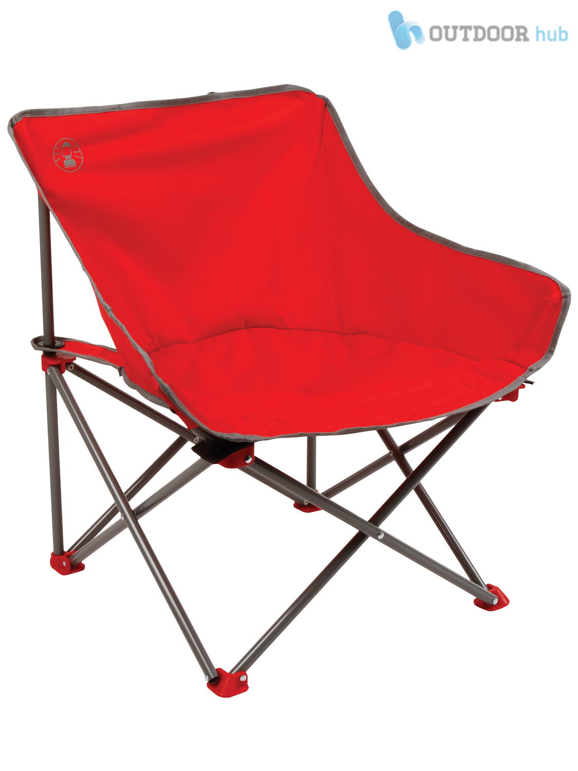 Coleman Bucket Folding Chair LowProfile Lightweight Camping Fishing Hiking Beach