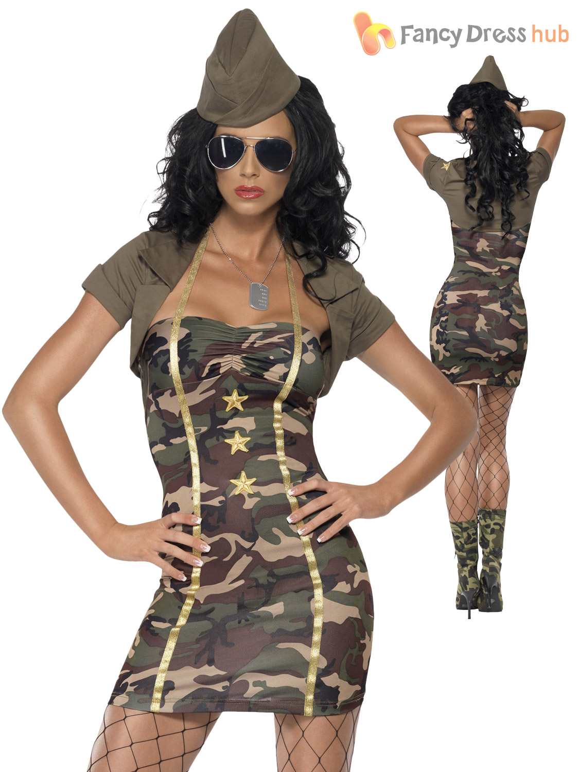 fabulous military outfits for women wedding