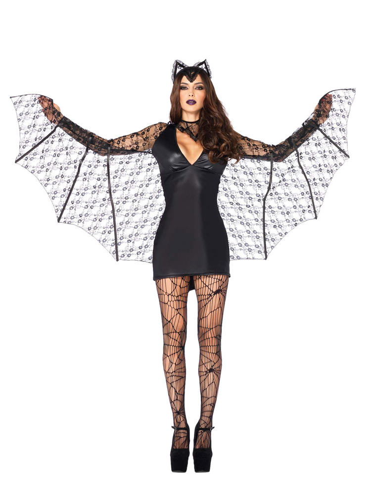 Ladies Moonlight Bat Costume