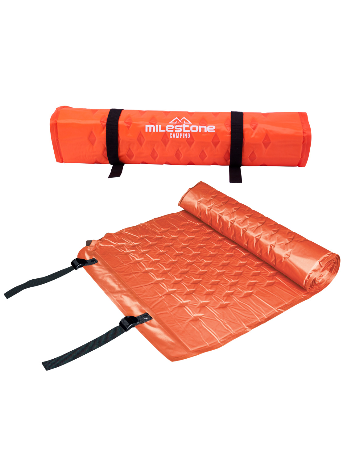 Milestone Self Inflating Camping Mat Air Bed Camp