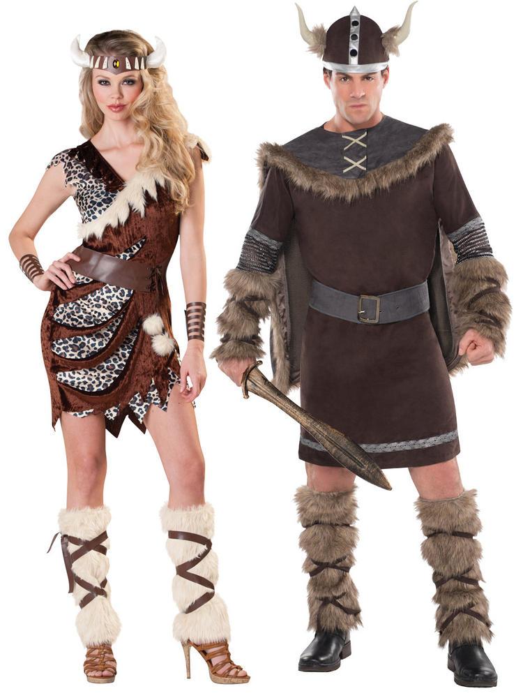 Adults Barbarian Viking Costume