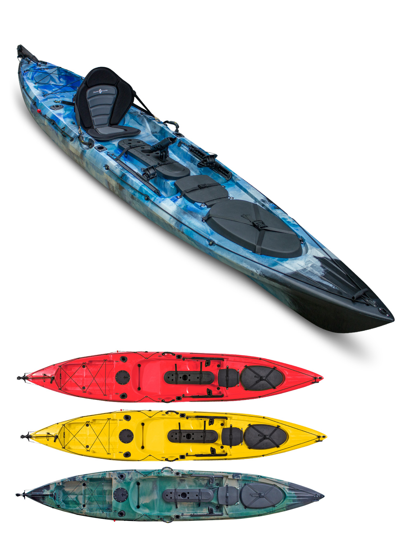 Concept angler explore pro 14 sit on top kayak all kayak for Fastest fishing kayak