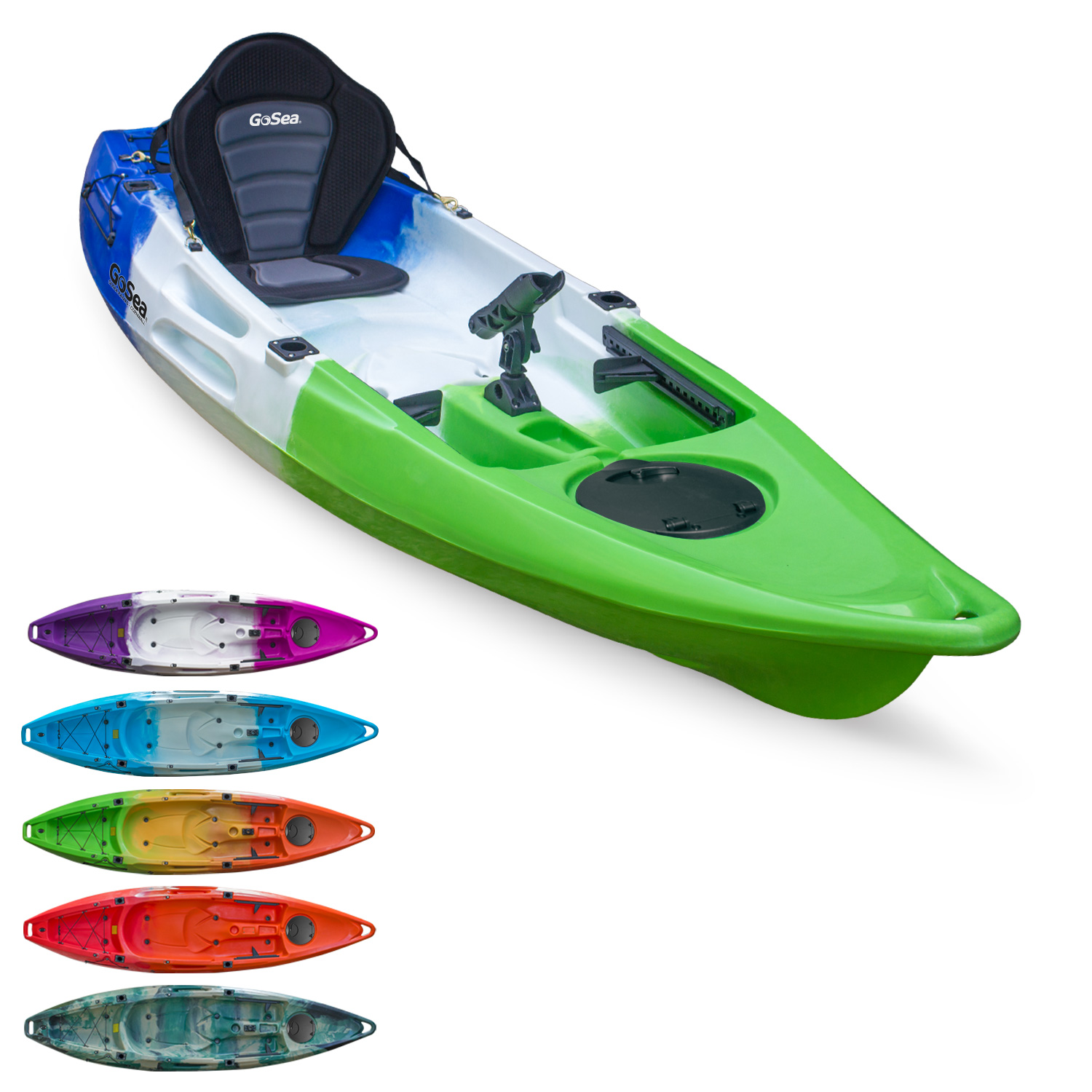 Kayak On Roof >> GoSea Glide Sit On Top Fishing Kayak | All Kayak | Outdoor Hub