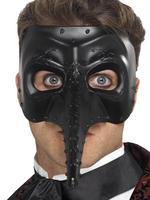 Men's Gothic Capitano Venetian Mask