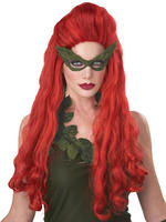 Ladies Poison Ivy Wig