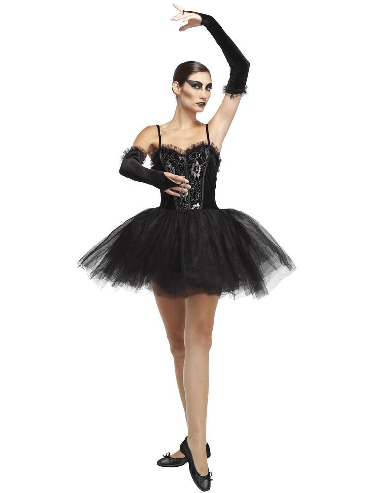 Ladies Gothic Ballerina Costume