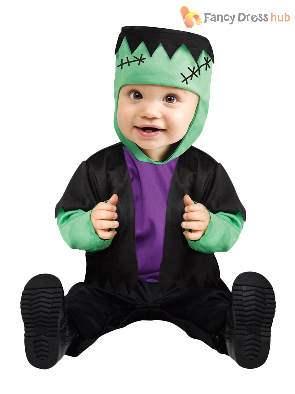 Baby-Toddler-Halloween-Fancy-Dress-Vampire-Babygrow-Costume-Boys-Age-1 ...