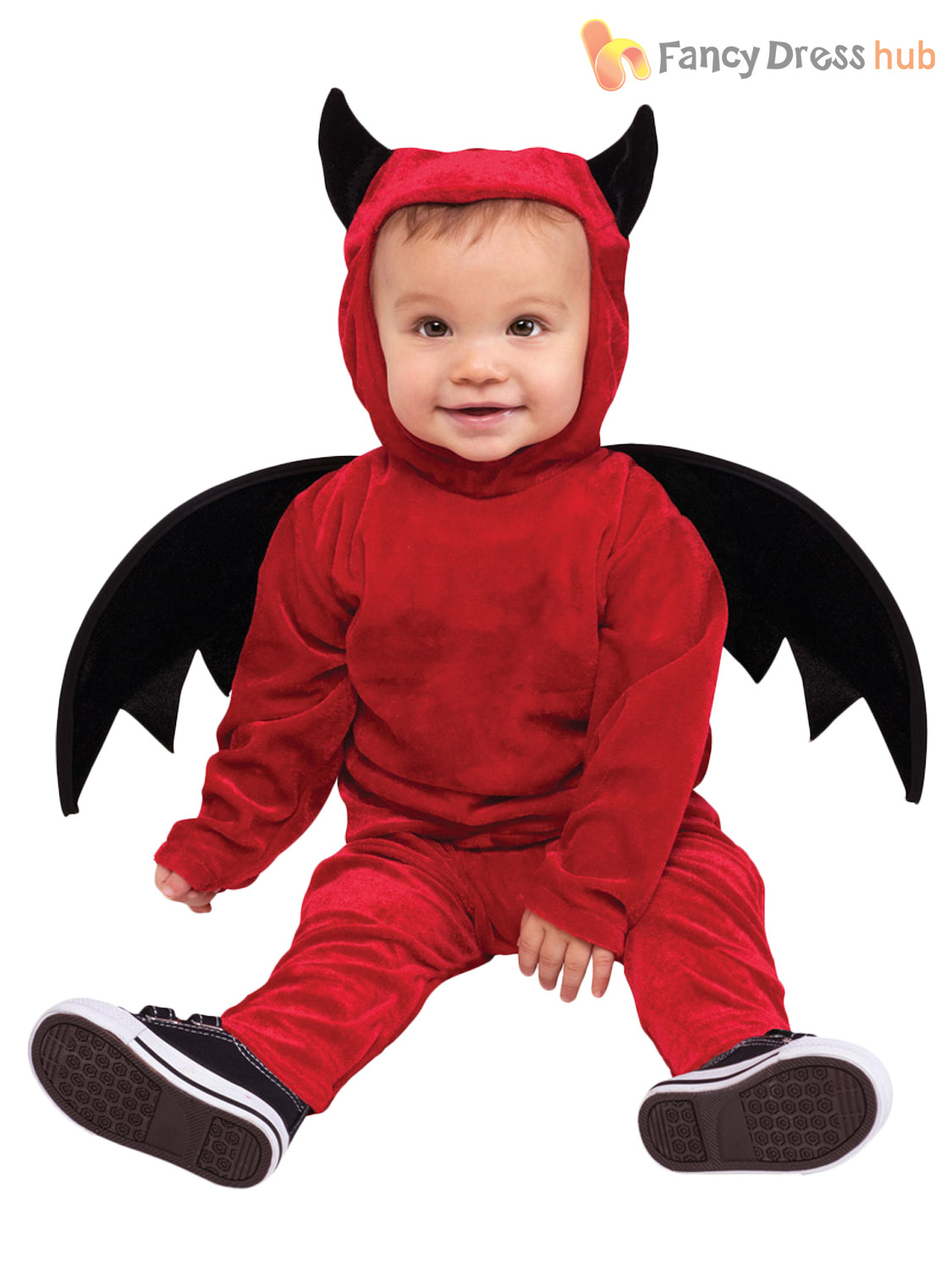 baby toddler halloween fancy dress vampire babygrow. Black Bedroom Furniture Sets. Home Design Ideas