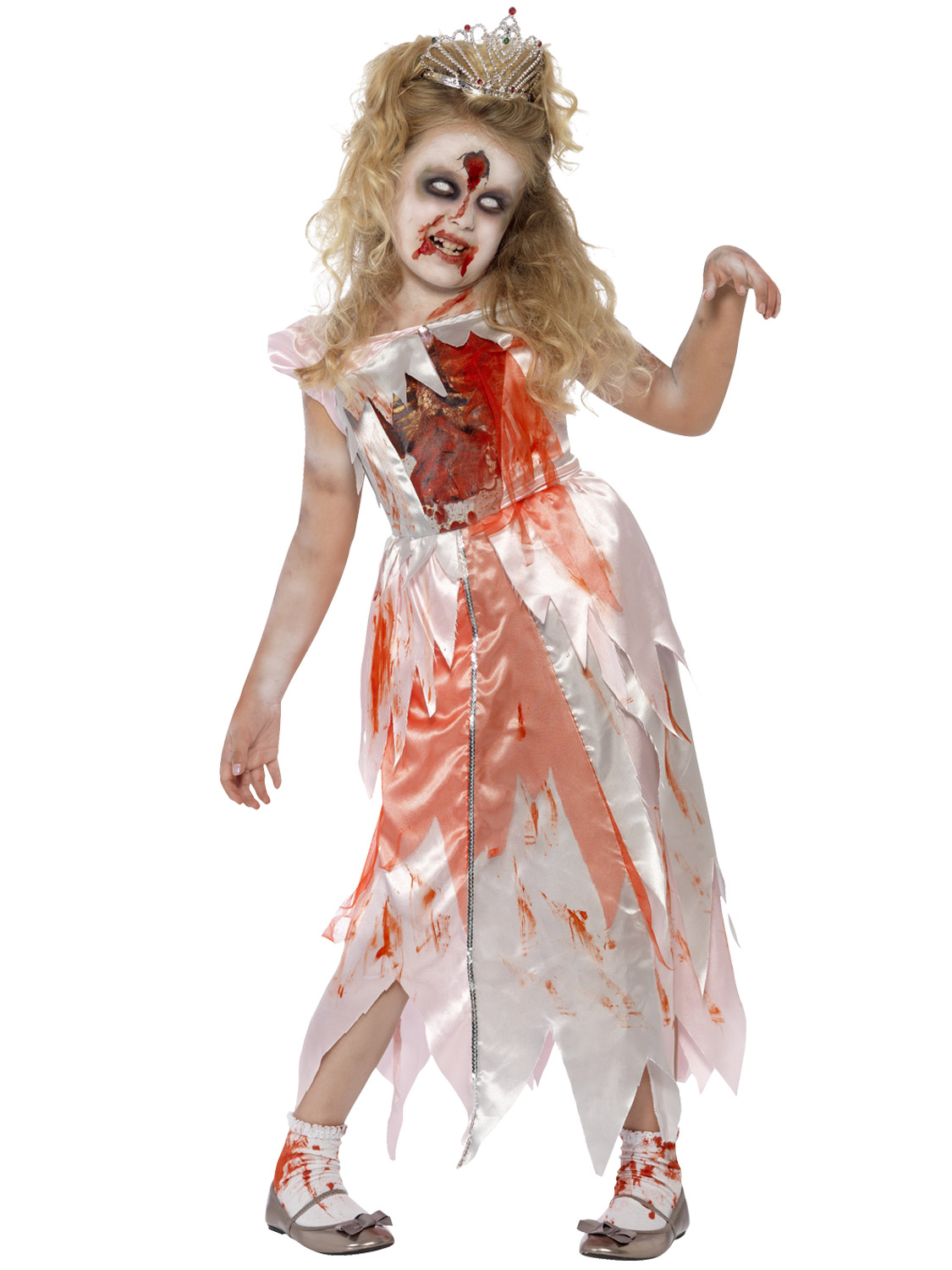 Popular Ladies Zombie Pirate Costume Cutthroat Ghost Halloween Fancy Dress