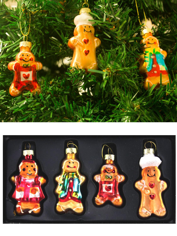 gisela graham glass christmas tree decoration set mini baubles vintage retro. Black Bedroom Furniture Sets. Home Design Ideas
