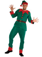 Men's Cheeky Elf Costume