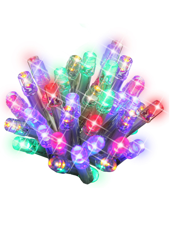 LED Chaser Cluster Christmas Light String Indoor Outdoor Multi-Colour Warm White eBay