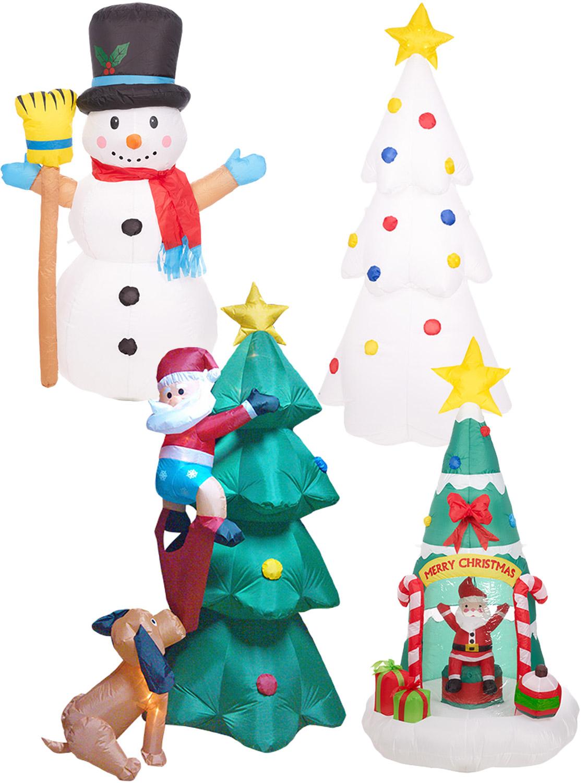 Outdoor Inflatable Christmas Decorations amp Figures UK - dinocro.info