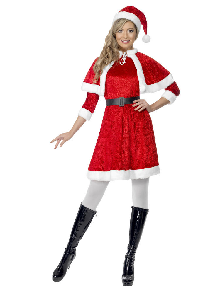 Ladies Miss Santa Costume