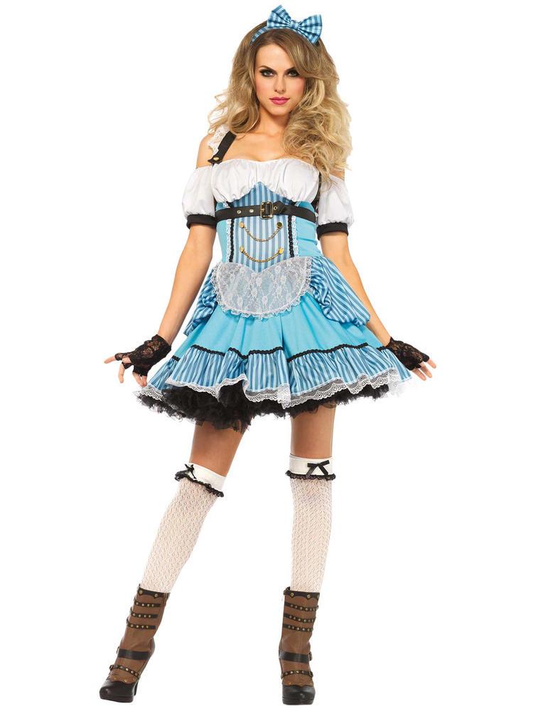 Ladies Rebel Alice Costume