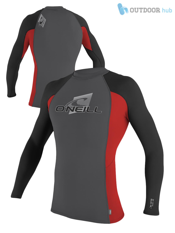 388c836639 O Neill Mens Skins Turtleneck Rash Vest Long Sleeve Guard Surf UV50 ...