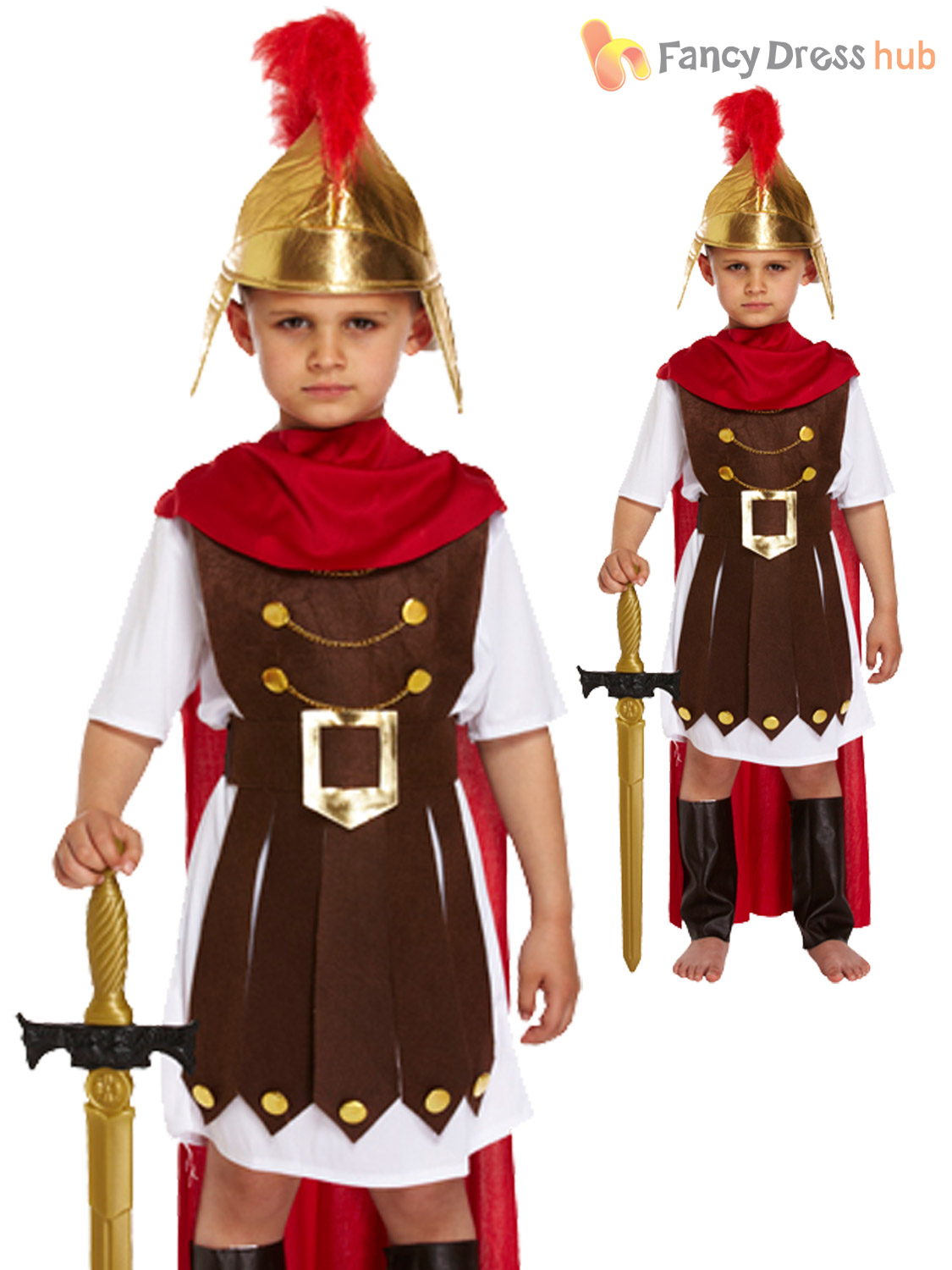 Boys-Roman-Soldier-General-Nativity-Play-Kids-Fancy-  sc 1 st  eBay & Boys Roman Soldier General Nativity Play Kids Fancy Dress Costume ...