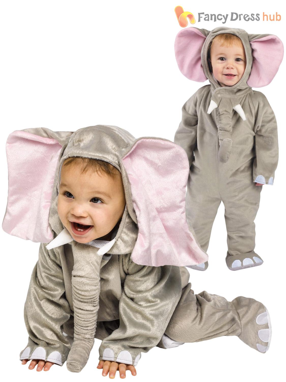 Baby Todder Animal Fancy Dress Up Costume Boys Girls 6 12