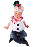 Kids Snowman Tabard