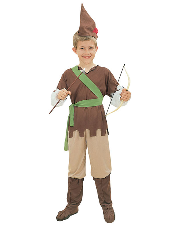 Boys Book Week Robin Hood Peter Pan Kids Fancy Dress Childrens Costume Outfit