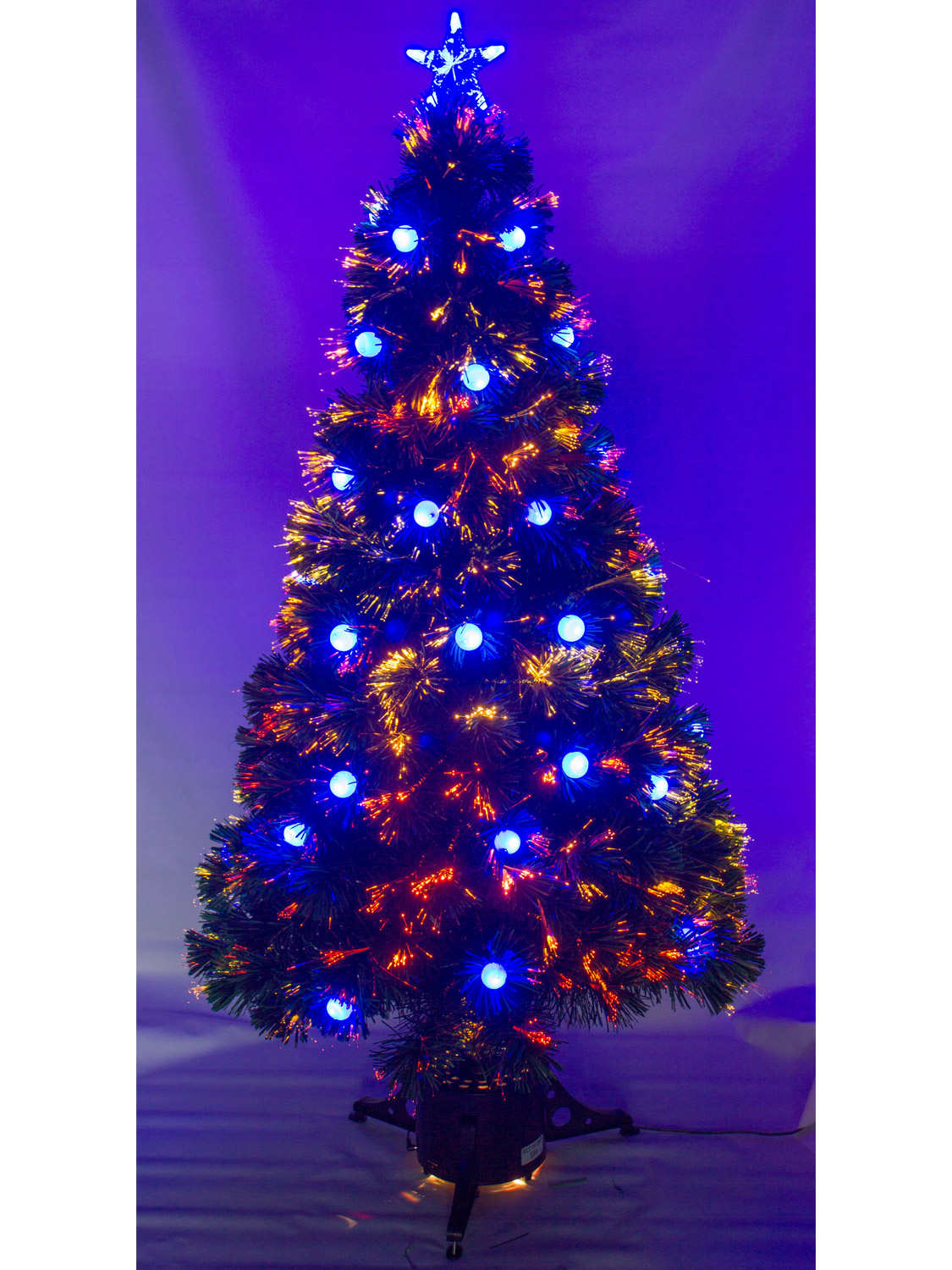 Christmas Trees Fibre Optic Part - 47: Decoration Image Idea