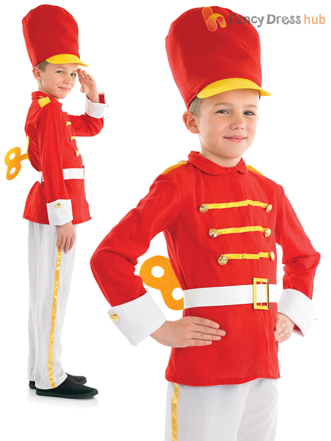 Toy Soldiers For Boys : Boys toy soldier nutcracker costume christmas fancy dress