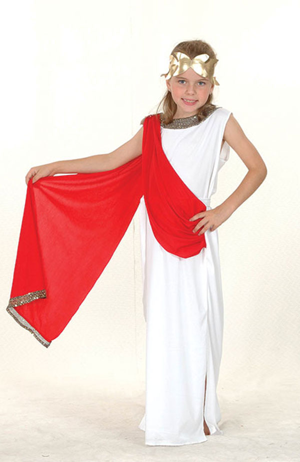 GIRLS-BOOK-WEEK-ROMAN-GREEK-GODDESS-FANCY-DRESS-COSTUME