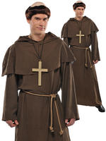 Men's Friar Monk Costume