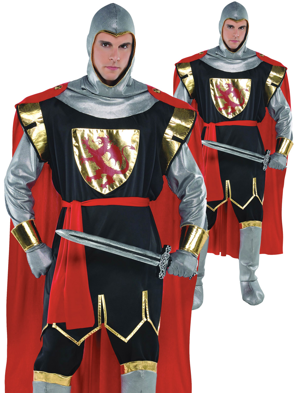 adult costume Crusader