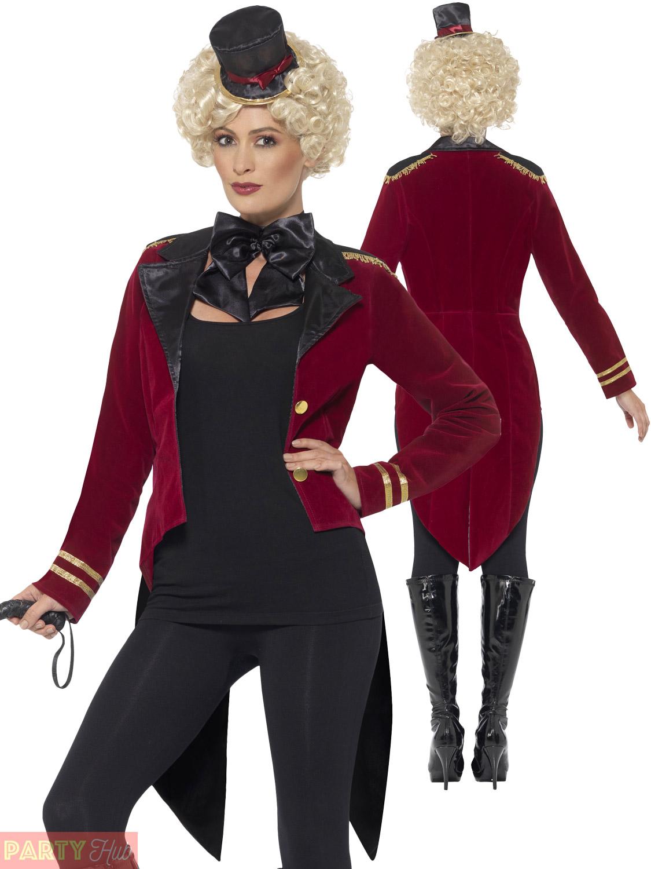 Womens ringmaster coat