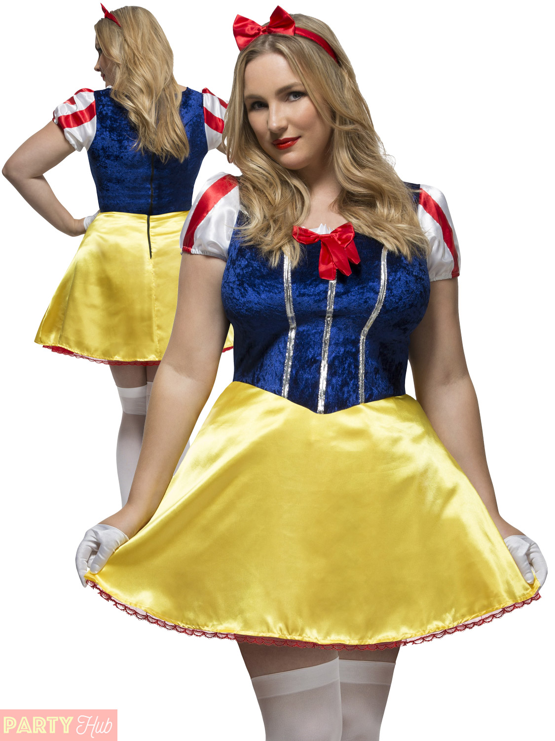 ladies fever fairytale curves costume adults plus size