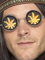 Holographic Marijuana Glasses