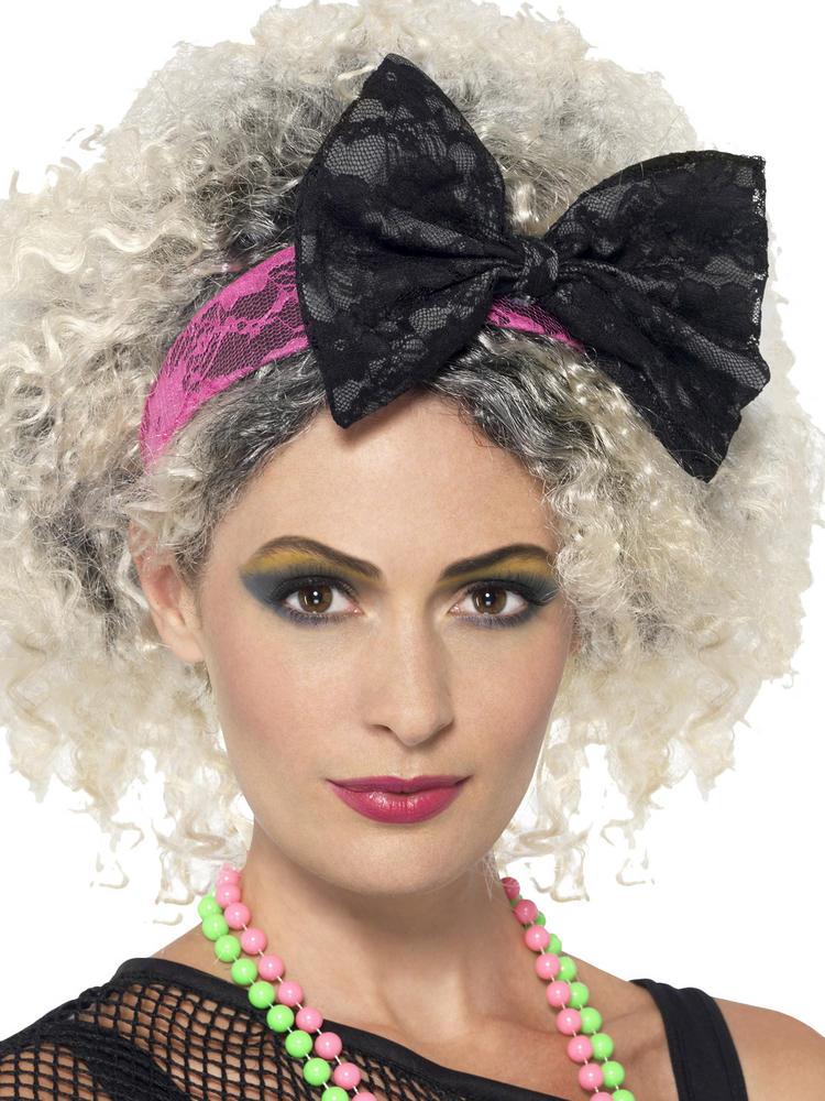 Ladies 80s Lace Headband