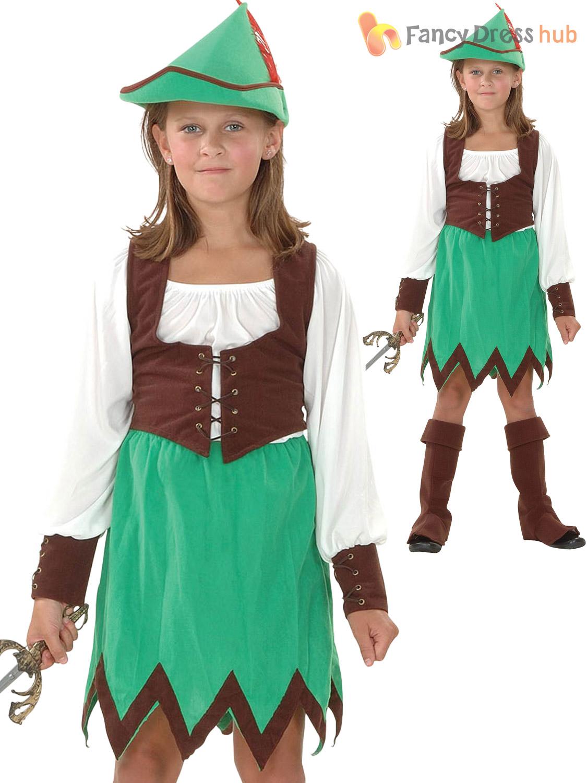 Robin hood and maid marian costume