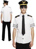Men's Fever Pilot Costume