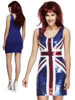 Ladies Rule Britannia Costume