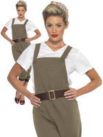 Ladies WW2 Land Girl Costume