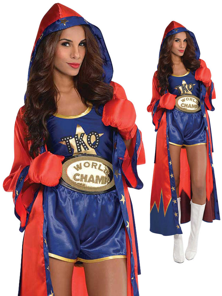 Ladies Knockout Boxer Costume