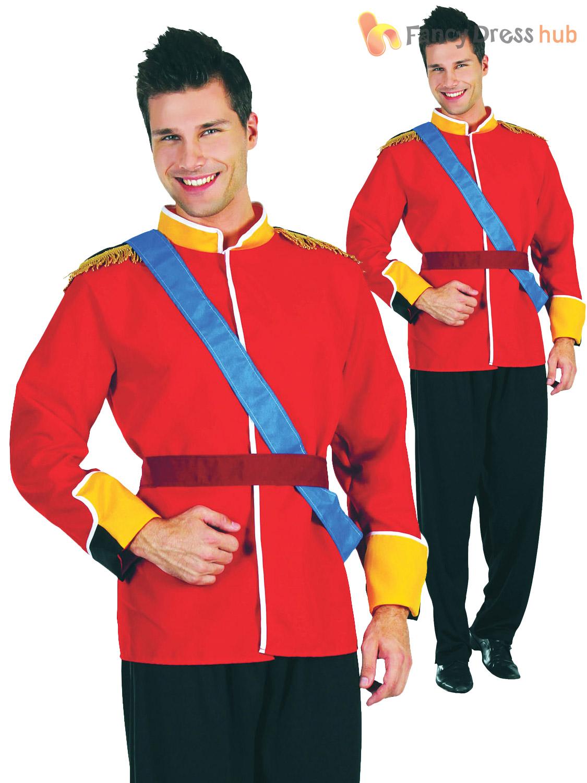 Men-039-s-Royal-Prince-Charming-Costume-Adults-  sc 1 st  eBay & Menu0027s Royal Prince Charming Costume Adults William Fancy Dress Panto ...