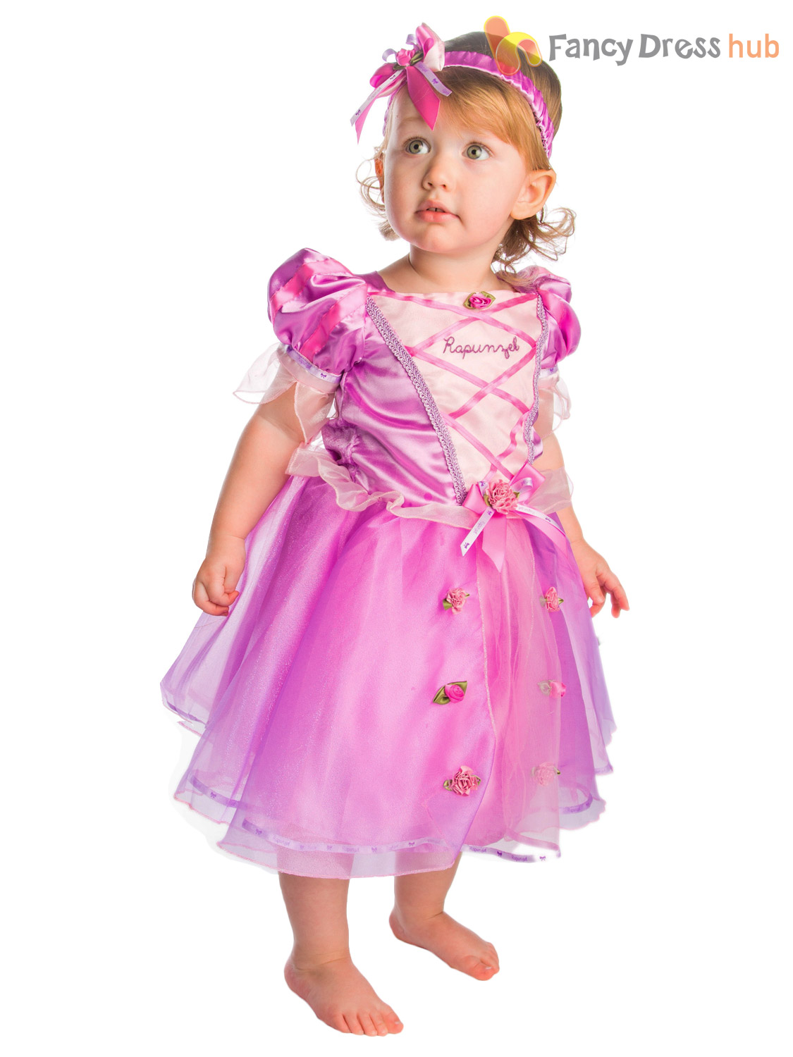 Dress up princess - Baby Toddler Deluxe Disney Princess Costume Girl Fairytale