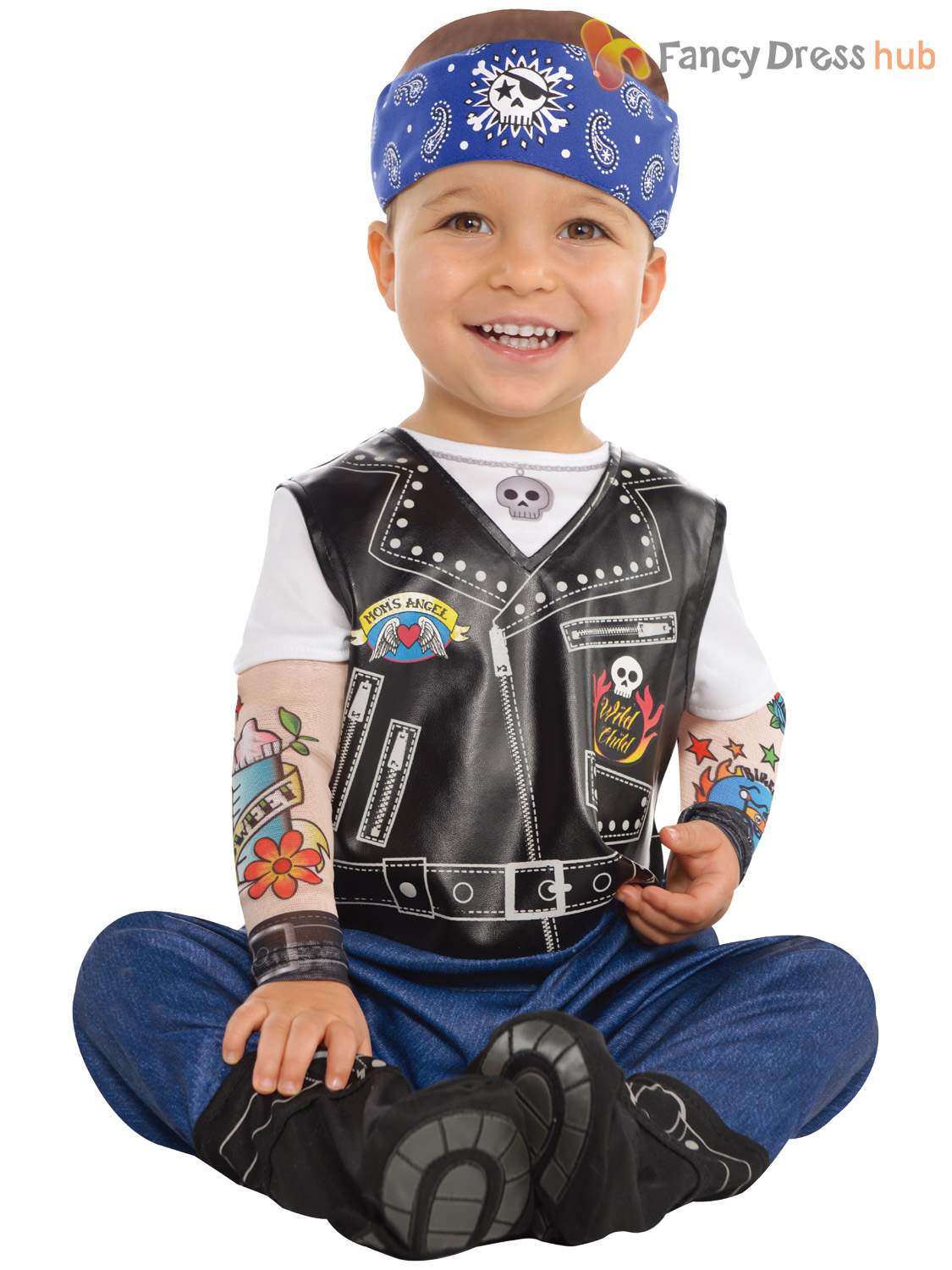 Biker Kids Clothing & Accessories from CafePress are professionally printed and made of the best materials in a wide range of colors and sizes.