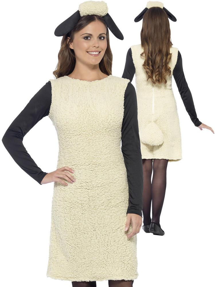 Ladies Shaun the Sheep Costume