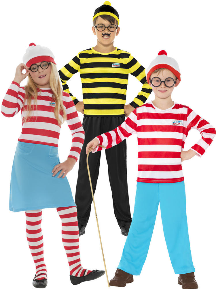 Kids Wheres Wally Costume