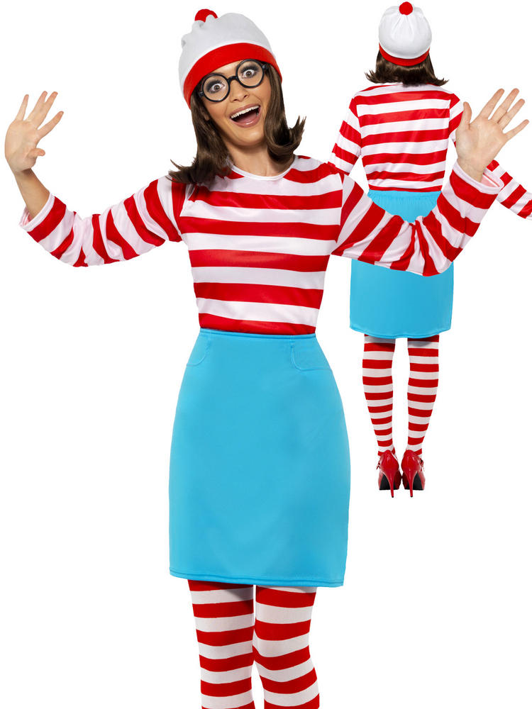 Ladies Where's Wenda Costume