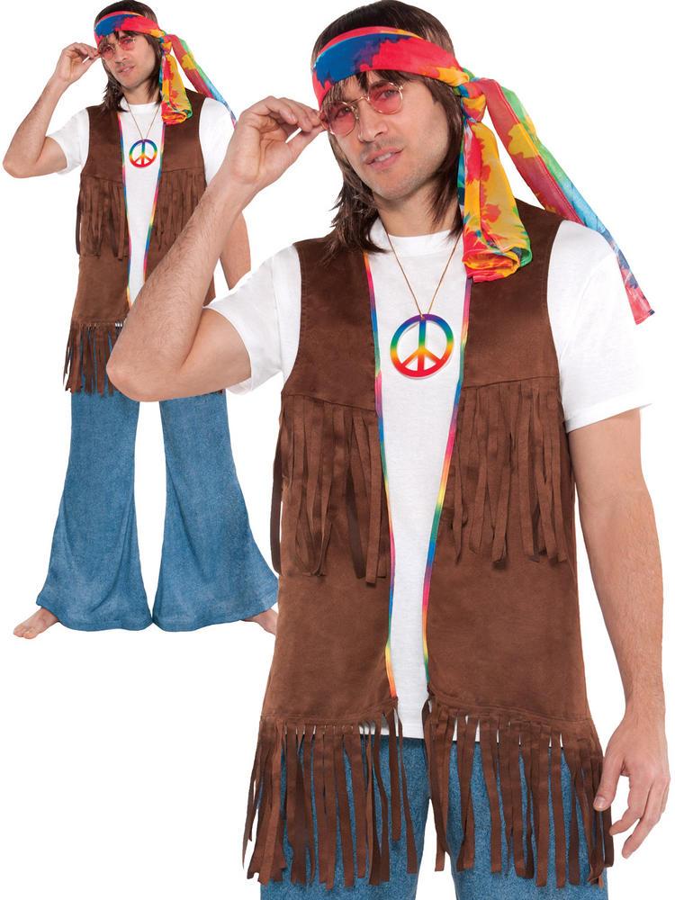 Adults Long Hippie Vest